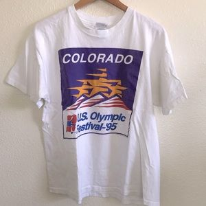 Vintage'95 Colorado US Olympic Festival t-shirt